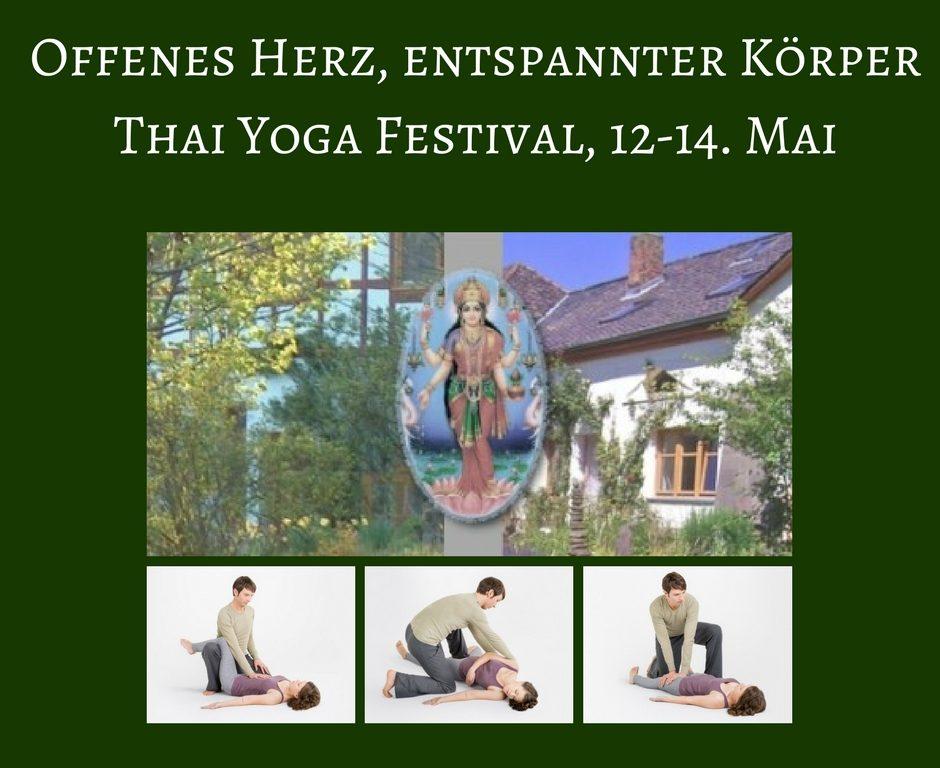 Thai Yoga Festival Julian Welzel