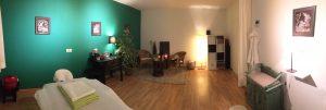 Massage Raum Praxis Julian Welzel