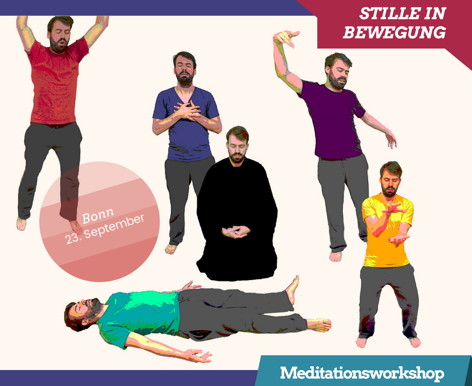 Meditation Workshop Julian Welzel