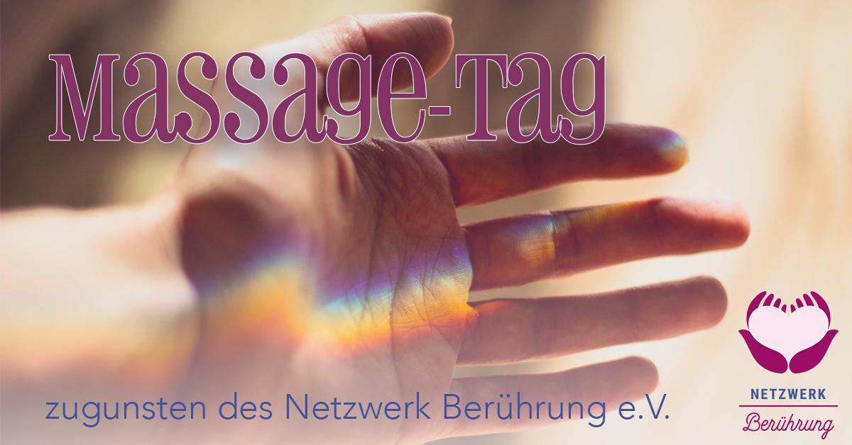 Massagetag Netzwerk Berührung Julian Ebenfeld