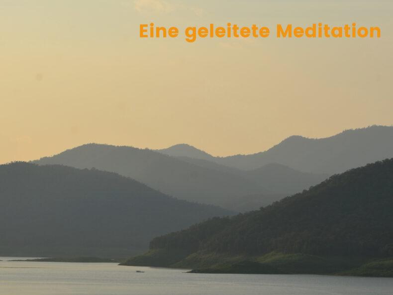 Julian Ebenfeld geleitete Meditation Entspannung und Weite